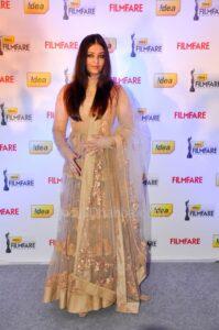 Aishwariya Rai at the 58thFilmfare Awards 2013
