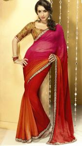 chiffon_sari