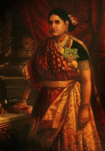418px-Rani_Bharani_Thirunal_Lakshmi_Bayi_of_Travancore_(1848–1901)